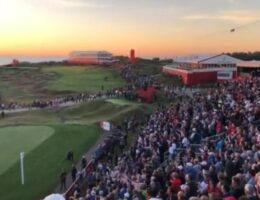 American Patriots At Ryder Cup Begin Spontaneously Singing National Anthem