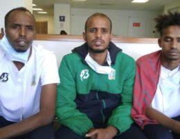 Asylum-seeking Djibouti footballer spends week in airport