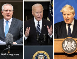 Australia, US, And The UK To Announce A Landmark New Defence Pact