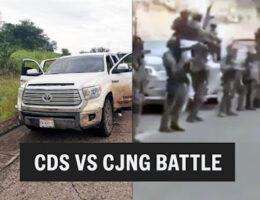 Beheaded Hitman Left From CJNG vs CDS Escorpiónes in Valpraíso, Zacatecas