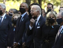 Biden Morphed Into 'Old Man Yelling at Clouds' During Ground Zero Remembrance