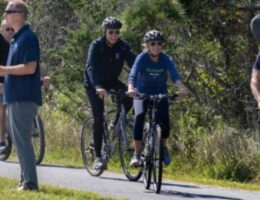 Biden Takes a 'Casual' Bike Ride by the Beach as Multiple Crises Sink His Presidency (VIDEO)