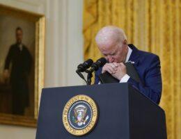 Biden's Afghanistan Speech Shows He Is Sociopathic