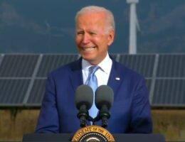 "Biden's Communist Green New Deal Pitch: ""Windmills Don't Cause Cancer"" (VIDEO)"