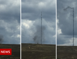 Bilsdale transmitter: Replacement TV mast could take months to build