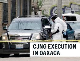 CJNG's Comandante Silveriano Executes in Santa Rosa Panzacola, Oaxaca