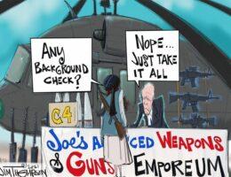 CODE RED: Joe's Gun Emporium, No Background Check Needed