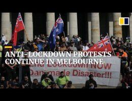 Covid-19 Revolt Grows In Australia