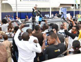 'Diamond' Niyonsaba lauded upon return to Burundi