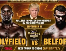 """EPIC! Stadium Chants """"WE LOVE TRUMP"""" at Triller Fight Club Event in Florida on 9-11 (VIDEO)"""