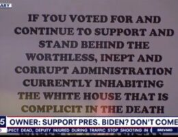 Florida Diner Posts Sign Telling Biden Supporters To Eat Elsewhere (VIDEO)