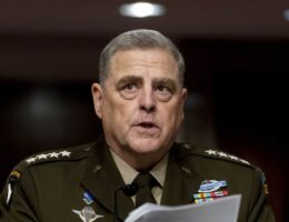 Former Senior Military Official: Milley Had 'Pattern of Behavior' of Exceeding His Authority and Undermining Trump