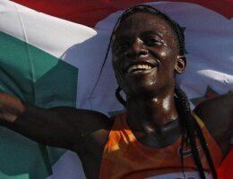 Francine Niyonsaba: Burundi runner sets new 2,000m world record in Zagreb