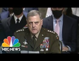 Gen. Mark Milley Defends His Calls With China During US Senate Hearings