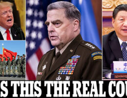 Gen. Mark Milley Feared Trump Could Order China Nuclear Strike. Took Measures To Limit Trump's Strike Powers And Called His Chinese Counterpart Twice To Reassure Him It Would Not Happen
