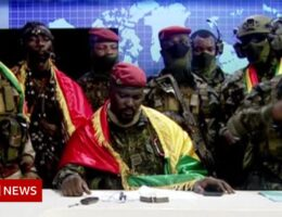 Guinea coup attempt: Soldiers claim to seize power from Alpha Condé