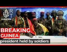 Guinean Special Forces Launch Coup. Have Seized The President