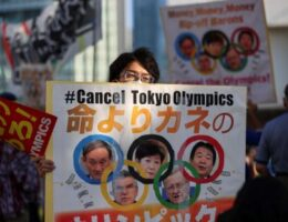 How the Olympics contributed to Suga's downfall