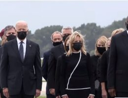 In Your Face: Maskless Joe Biden Pals Around With Maskless Union Members on Labor Day