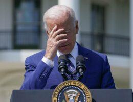 Joe Biden Has Zero Political Capital, so Grandpa Stompy Foot Has to Work