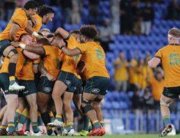 Late drama as Australia beat world champions South Africa