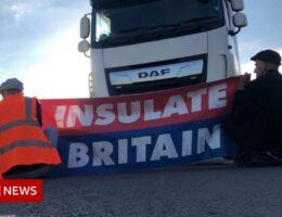 M25 protests: Activists return to Hertfordshire, Surrey and Kent