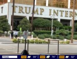 Man Arrested After Claiming to Have a Bomb at Trump Hotel in Vegas