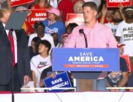 Marine Who Reportedly Helped Rescue Afghanistan Baby Is Under DoD Investigation After Speaking at Trump Rally