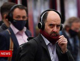 Mask-wearing on public transport sees big drop
