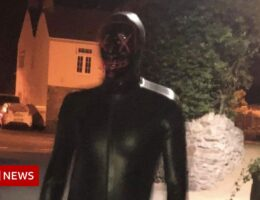 Masked man reported spying on Claverham couple at night