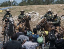 Mayorkas Puts Calvary Border Agents Who Used Reins to Control Haitian Illegals on Desk Duty Pending Investigation