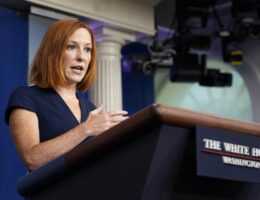 Media Demands Answers From Jen Psaki on Dumbest Take of Day: Border Patrol, Haitians, and Whips
