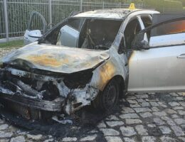 """Merkel's Goon Squad 2: Antifa Torches """"Young AfD"""" Head's Car in Berlin"""