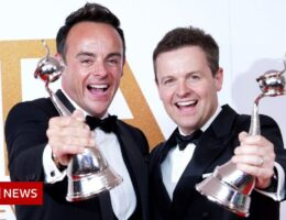 National Television Awards 2021: Ant and Dec 'overwhelmed' by 20th win