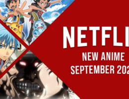 New Anime on Netflix in September 2021