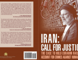 New Book Makes the Case to Bring Iranian Regime's President Ebrahim Raisi to Justice