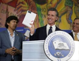 Newsom Enshrines Mail-In Ballots For All Californians...Except Unions