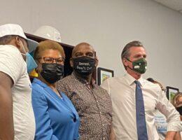 "Newsom Rally Speaker Calls Republican Larry Elder a ""Black Face on White Supremacy"" at Democrat Rally"