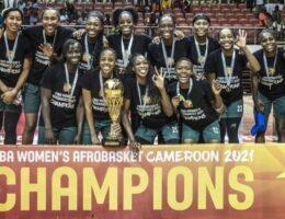 Nigeria win third straight Women's AfroBasket title