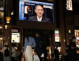 No escape from COVID-19 at Japan's ballot box