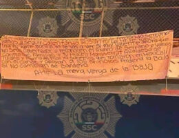 Playas de Rosarito, Baja California: Governor Jaime Bonilla And Elected Authorities Threatened In A Banner