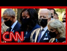 Presidents Biden, Obama, And Clinton Attend 9/11 Commemorations