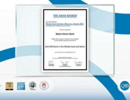 QIB awarded &#39 Best SME Bank in the Middle East and Qatar&#39 by The Asian Banker
