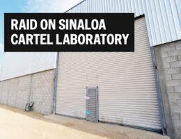 Raid on Sinaloa Cartel Narcolaboratory in Ensenada, Creating Product For Local Consumption