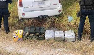 Reynosa, Tamaulipas: Criminals Abandon Texas Truck With Bullets, Marijuana And Caltrops