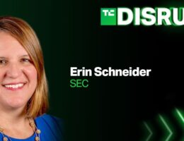 SEC Regional Director Erin Schneider is joining us at Disrupt