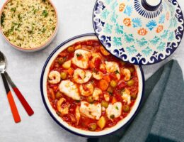 Summer Sizzlers: Take a trip to the Middle East with this cod and prawn tagine
