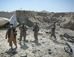 Taliban Gloat Over The Ruins Of CIA's Afghan Base