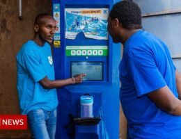 The ATMs that dispense green fuel