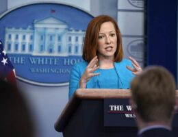 The Daggers Peter Doocy Shot at Jen Psaki Over Vaccine Mandate Answer Would Make Superman Proud